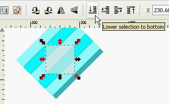 Seamless diagonal lines