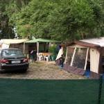 Арапя - палатки