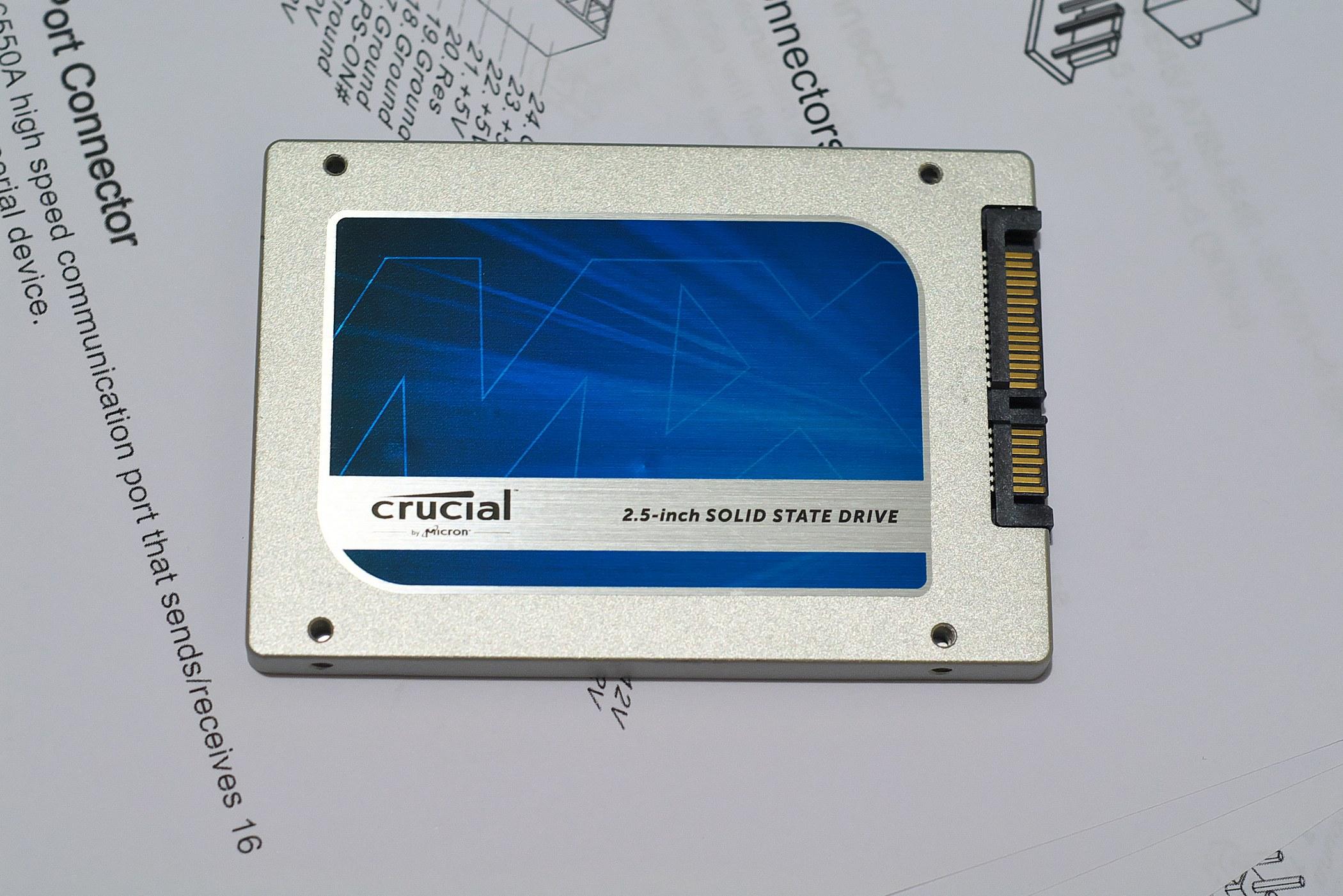 SSD Crucial MX100 128Gb