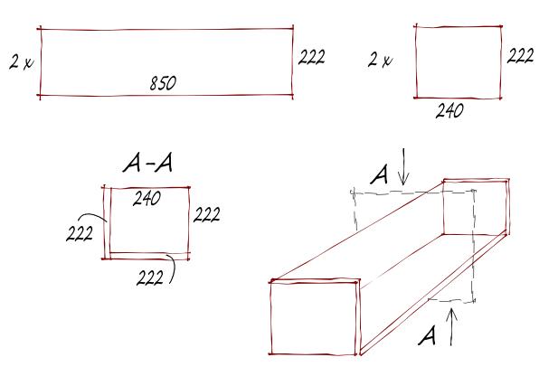 Схема на етажерка