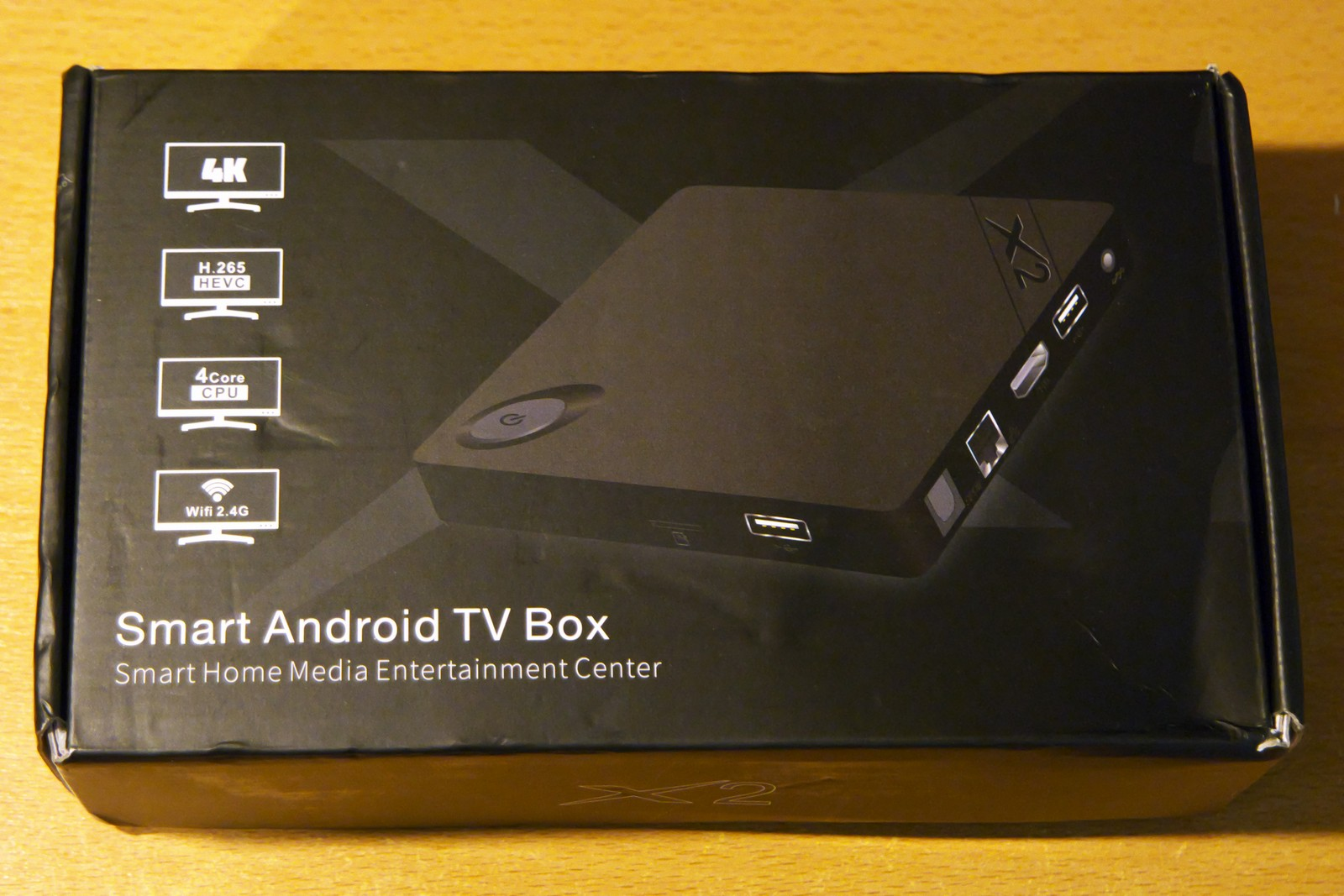 Beelink X2 TV Box 4K H.265