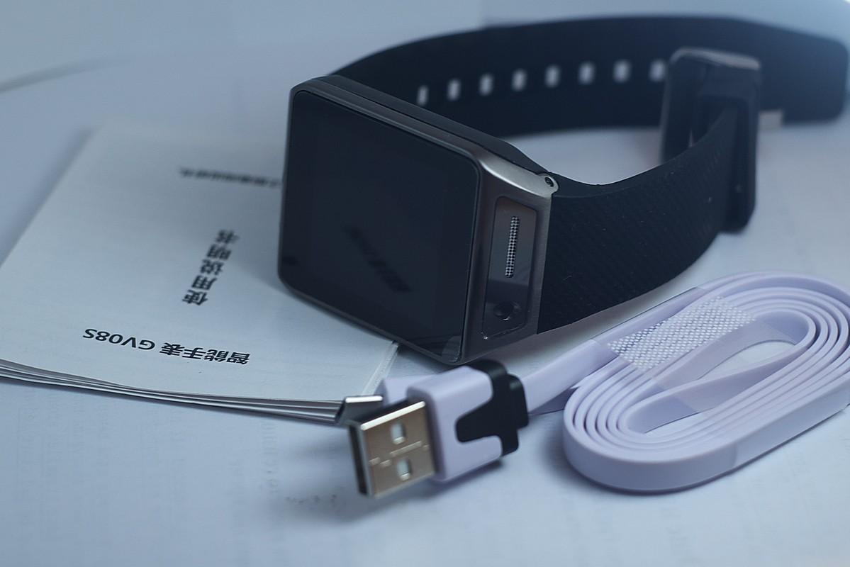 GV08S smart watch - съдържание на опаковката
