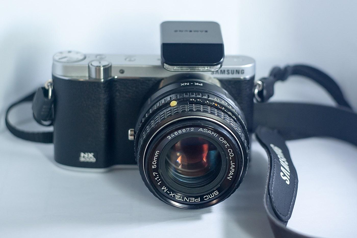 Samsung NX3000 + Pentax M 50mm 1.7