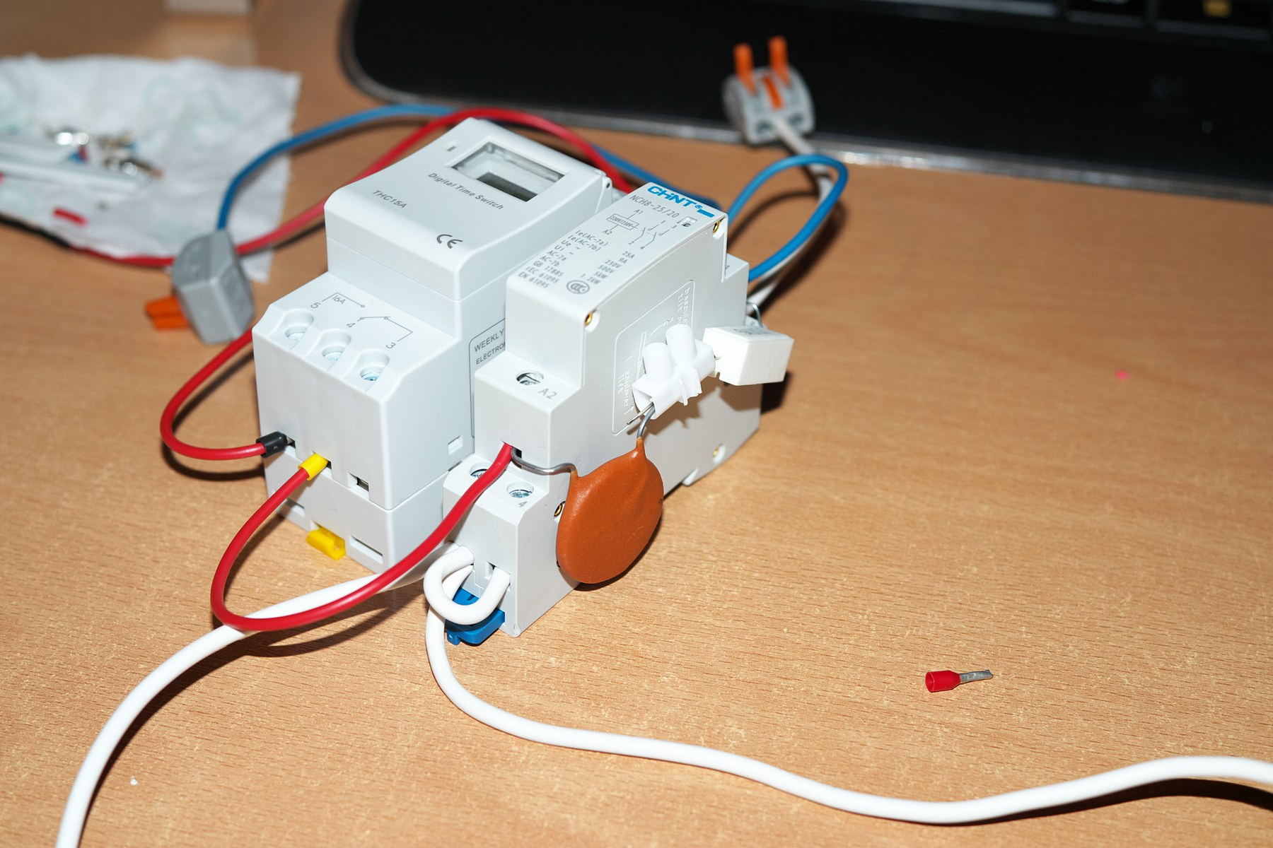 кондензатор и резистор - RC-филтър