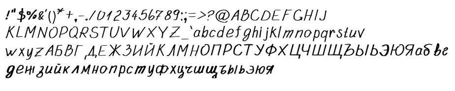 Nediko - custom font - Symbols