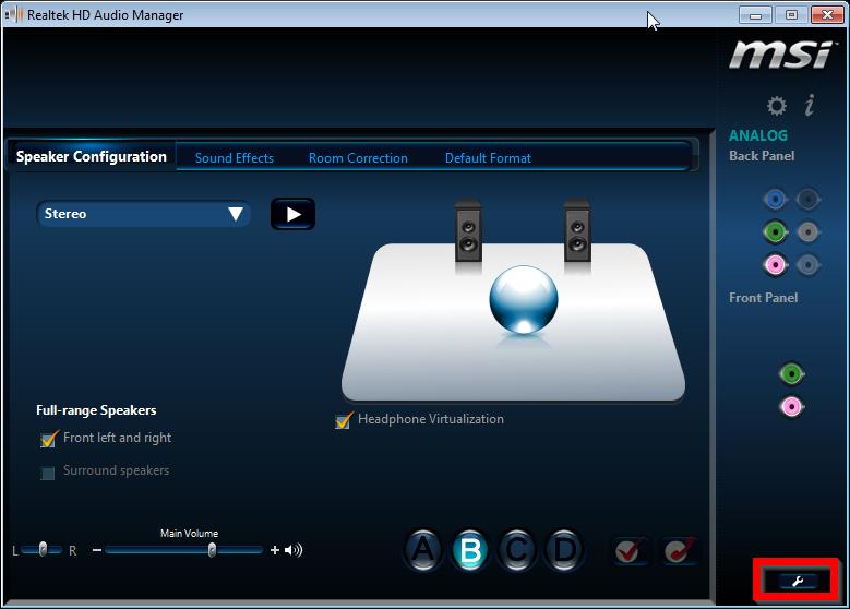 Realtek HD audio - both headphones and speakers